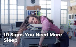 How to tell if you're not getting enough sleep