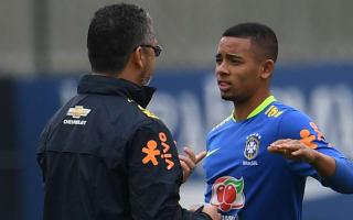Neymar makes Barcelona case to Gabriel Jesus