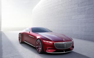 Mercedes-Maybach reveals stunning coupe concept