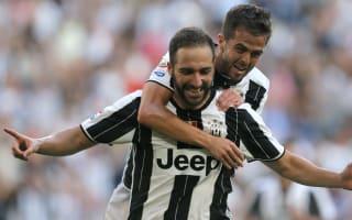 Juventus 3 Sassuolo 1: Higuain marks first start in style