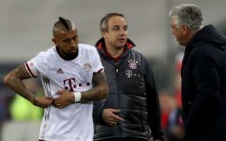 Vidal fears longer lay-off, targets return against Arsenal