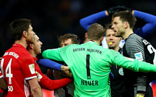 Neuer slams Jarstein after brawl