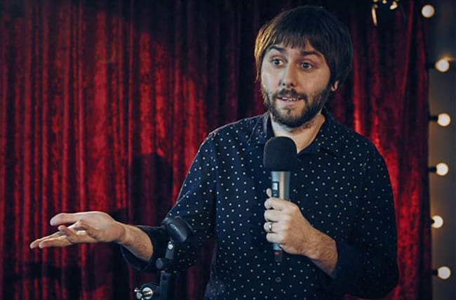 Watch live as Inbetweener James Buckley chats to us at AOL Build