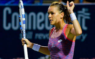 Radwanska claims Connecticut crown