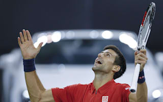 Humming helps Djokovic through, Murray hits high notes in Shanghai