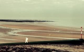 Mystery 'astronaut' on beach shocks seaside tourists in Margate