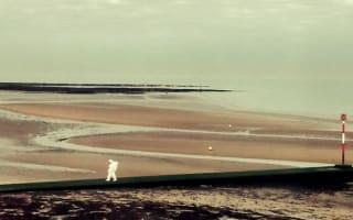 Mystery 'astronaut' on beach shocks seaside tourists in Margate
