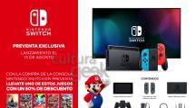 La Nintendo Switch llegará a Argentina el próximo 15 de agosto