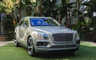'First Edition' Bentley Bentayga revealed to special guests