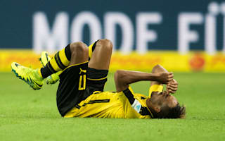 Fitness fears over Aubameyang with Real Madrid looming