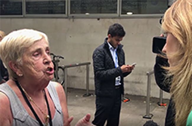 Camden tower evacuations: Woman confronts council chief