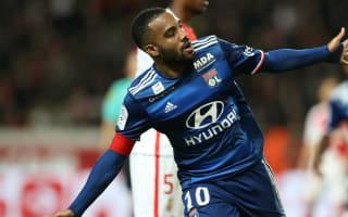 Monaco 1 Lyon 3: Lacazette strike settles fiesty clash