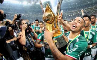 Jesus emotional after Palmeiras title win