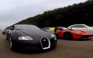 Video: Bugatti Veyron vs Ferrari LaFerrari