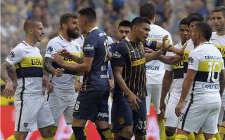 Tevez unimpressed after Gutierrez sparks melee