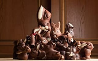 Forget Happy New Year: shops ready for Easter