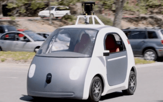 Google wows California locals with self-driving car