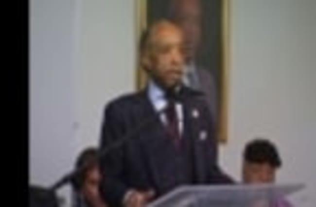 On MLK Day: Sharpton Sends Message To Trump