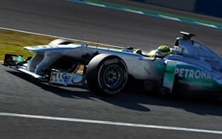 Mercedes fast with radical 2012 'F-duct' front wing