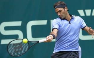 Federer ends Mayer's title defence in Halle