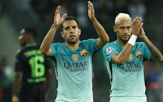Alba expected to be fit for Manchester City clash