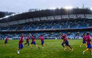 Barca face Anoeta trip, Madrid draw Celta