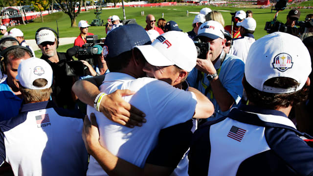United States wins Ryder Cup for first time since 2008