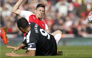 Deeney feared broken leg in Gabriel challenge