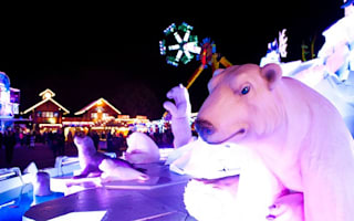 Celebs head to the launch of Hyde Park's Winter Wonderland