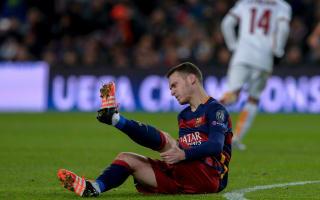 Vermaelen suffers calf injury