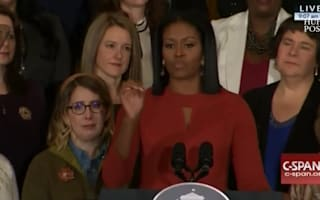 Michelle Obama's final speech as First Lady was as inspirational as it was emotional