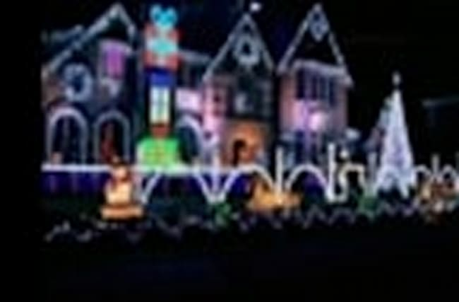 Prince Honored in Famous Ill. Christmas Display