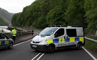 Two children aged two and three die after car plunges into loch