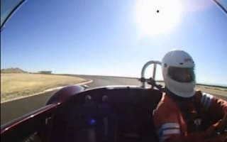 Video: This man crashed his car at 130mph and didn't die