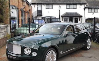 The Queen's Bentley Mulsanne is up for sale on Auto Trader