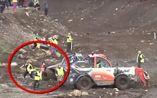 How did she survive? Woman crushed by off-road car: VIDEO