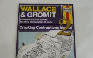 Wallace and Gromit manual: A cracking Christmas gift