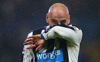 Newcastle United v AFC Bournemouth: Shelvey calls for character