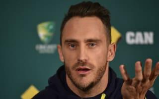Du Plessis enjoying Australia's selection panic