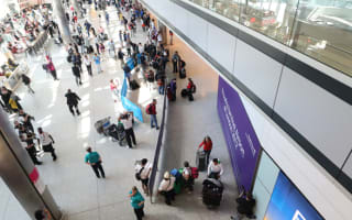 Woman gives birth in Heathrow Airport toilet