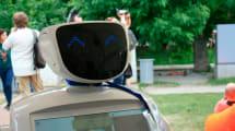Un robot ruso se escapa de su laboratorio y siembra el caos en la calle