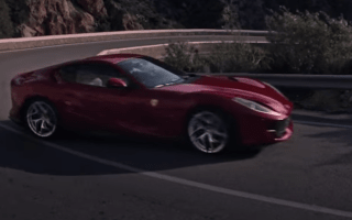 Ferrari releases first glimpse of new 812 Superfast in action