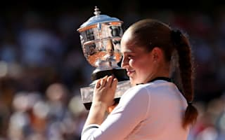Ostapenko in disbelief after remarkable Roland Garros triumph