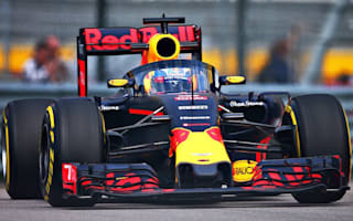 Red Bull Racing testing its cockpit 'aeroscreen' at Russian Grand Prix