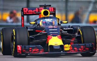 Red Bull Racing testing its cockpit 'aeroscreen' at Russian Grand Prix