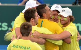 Kyrgios and Goffin the heroes as Belgium & Australia reach semis