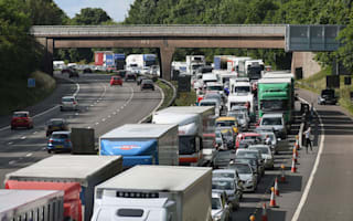 Traffic on Britain's roads has reached record levels