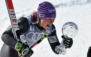 Worley holds off Shiffrin to claim maiden GS globe