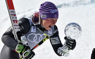 Worley holds off Shiffrin to claim maiden GS globe