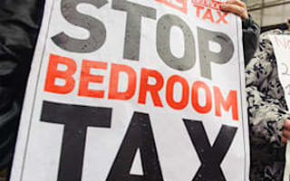 'Bedroom tax' error hits thousands